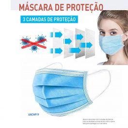 Mascara 3 camadas - Sem preço